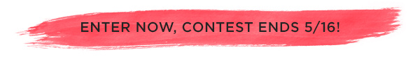 Contest Ends May 15, 2014